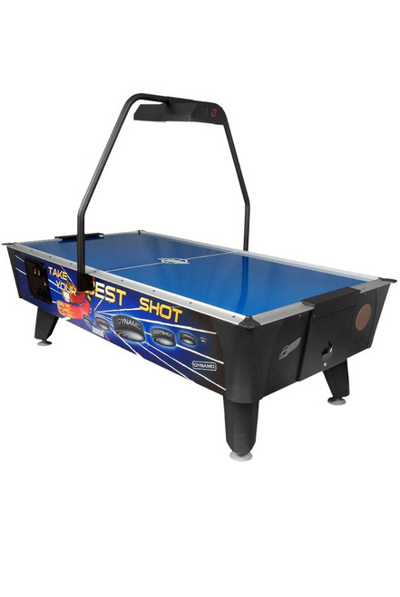 Dynamo 8Ft Best Shoot Air Hockey Table - Coin operated with overhead scoring - view 1