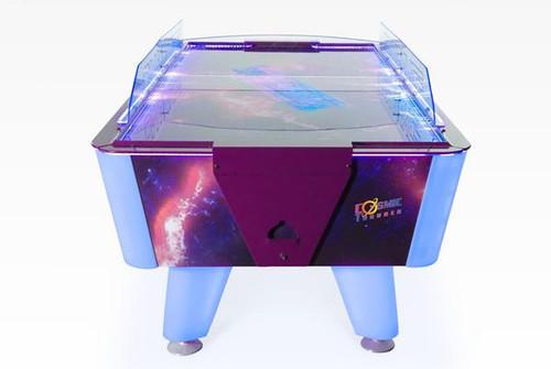 Dynamo 7 Foot Cosmic Thunder Air Hockey Table -  Coin operated - Thumbnail 2