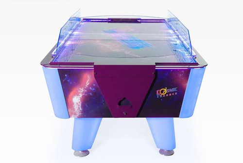 Dynamo 7 Foot Cosmic Thunder Home Air Hockey Table - Thumbnail 2