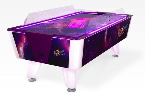 Dynamo 7 Foot Cosmic Thunder Home Air Hockey Table - Thumbnail 1