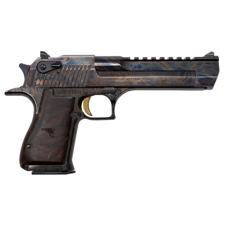 "Magnum Research Desert Eagle Mark XIX 50 AE 6""  Color Case Hardened"