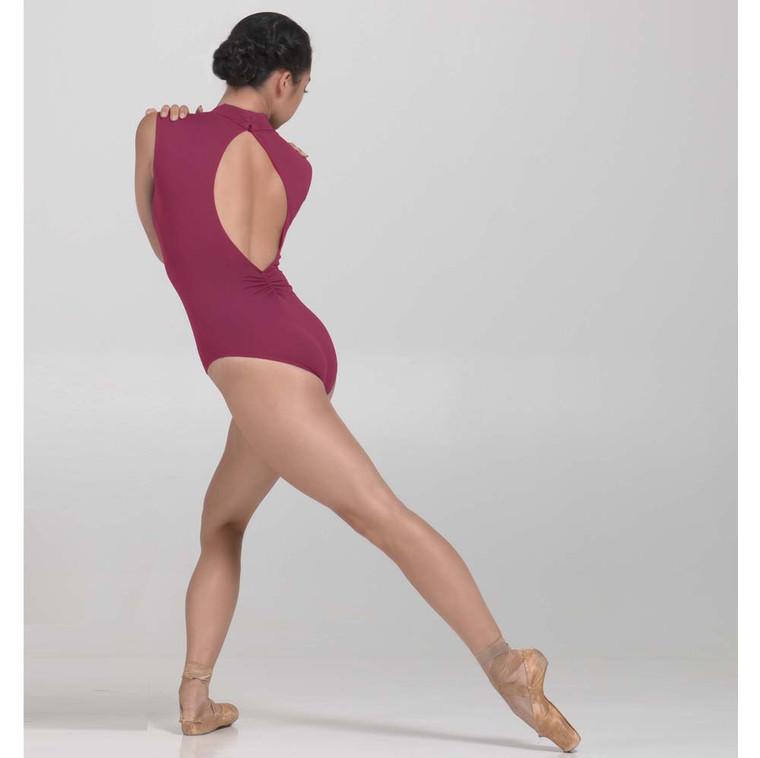 Ballet Rosa 1009 Angeles V Neck Tank Leotard with Plunging Back