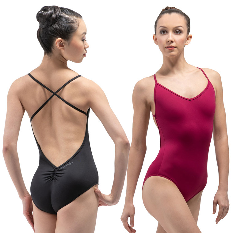 Ballet Rosa 1039 Kayla Camisole Leotard with Super Low Back