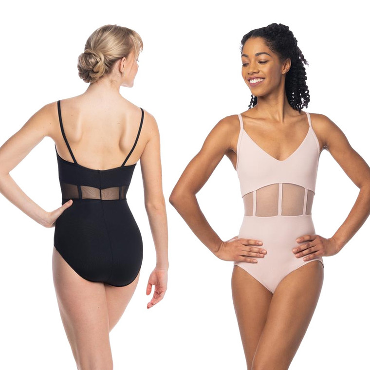 Ainsliewear AW1105ME Desiree Leotard with Mesh