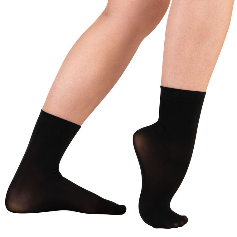 Body Wrappers A71 Short Jazz Sock Ankle Tights
