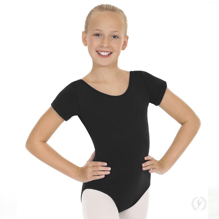 Eurotard 1043 Children's CottonShort Sleeve Leotard