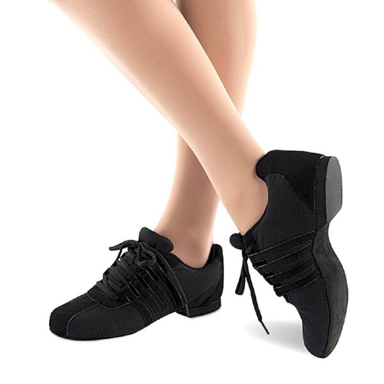 Danshuz 9890 Zoom Canvas Dance Sneaker with Suede Sole