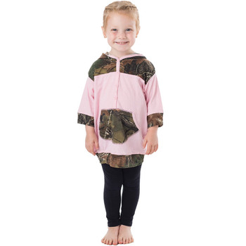 """Trailcrest Toddler """"Dress-Me-Up"""" Girl's Hooded Tunic"""