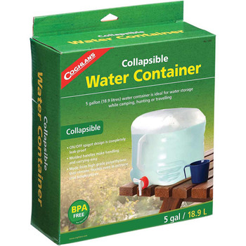 Coghlan's Plastic Collapsible Water Container