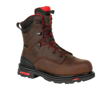"""Rocky Men's RXT 8"""" Safety Toe Work Boots"""