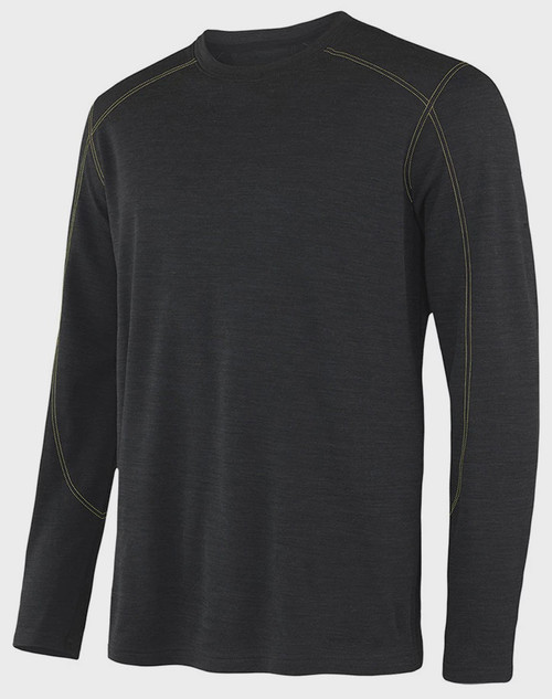 Terramar Men's Thermawool Base Layer Crew
