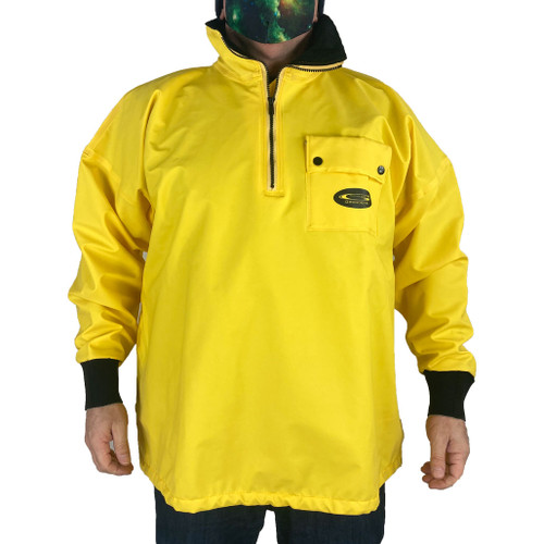 Grundens Men's 1/4 Zip Pullover Rain Jacket