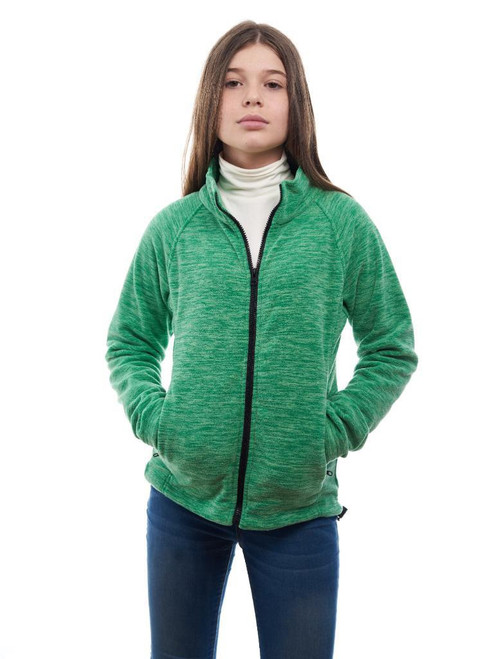 Trailcrest Girl's Full Zip Soft Fleece Jacket