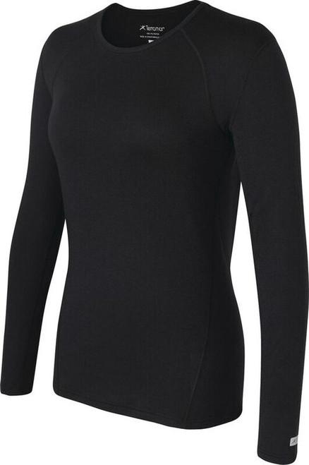 Terramar Women's Authentic Thermal 2.0 Crew Top