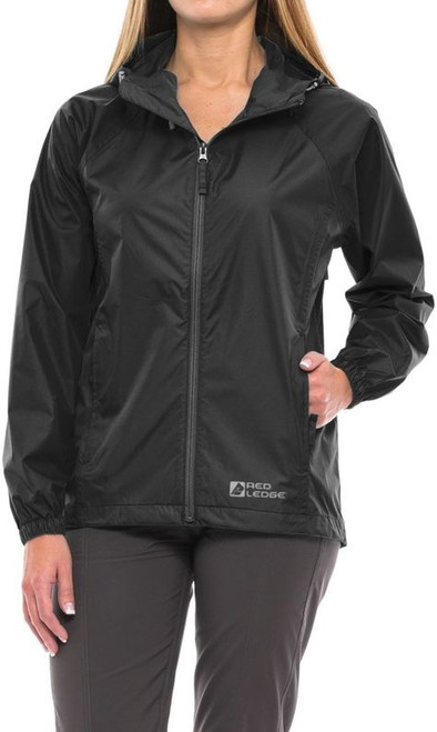 Red Ledge Women's Plus Size Stowlite Rain Jacket