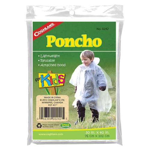 Coghlan's Rain Poncho for Kids
