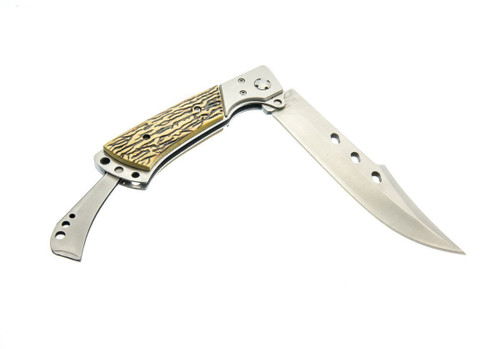 "Sona 10.3/4"" Folding Flip Lock Hunting Knife"