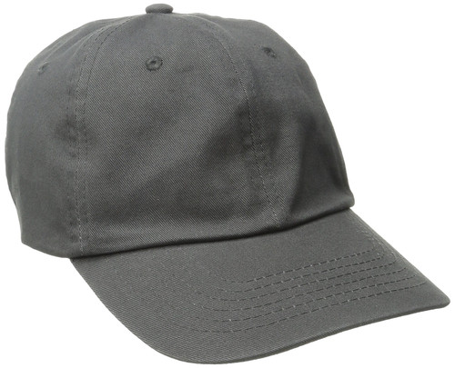 Dorfman Pacific Washed Twill Hat - Charcoal