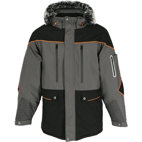 Refrigiwear Men's Polarforce Hooded Parka