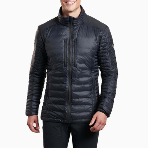 Spyfire Down Jacket-Blackout
