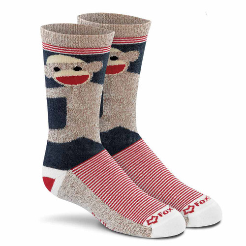 Fox River Kid's Monkey Lightweight Crew Socks