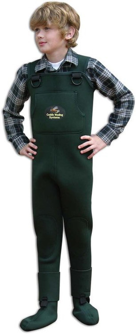 Caddis Youth Stocking Foot Neoprene Waders