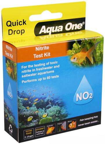 Aqua One Quick Drop Test Kit - Nitrite NO2 (92054)