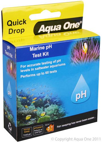 Aqua One Quick Drop Test Kit - Marine PH (92052)