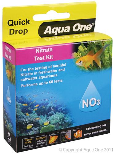 Aqua One Quick Drop Test Kit - Nitrate NO3 (92055)