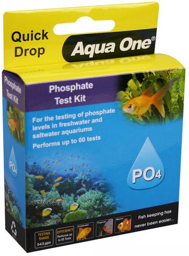 Aqua One Quick Drop Test Kit - Phosphate PO4 (92056)
