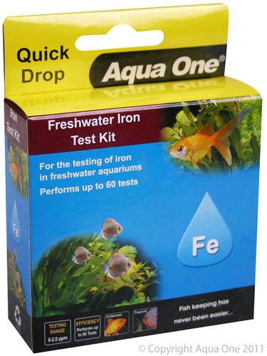 Aqua One Quick Drop Test Kit - Iron FE (92058)