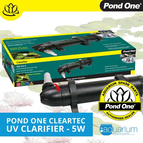 Pond One ClearTec UV Clarifier 5W (93090)