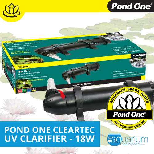 Pond One ClearTec UV Clarifier 18W (93093)