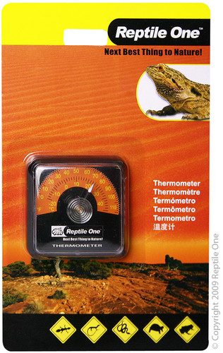 Reptile One Economy Stick On Thermometer (46594)