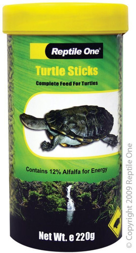 Reptile One Turtle Sticks 220g - Large (11534)
