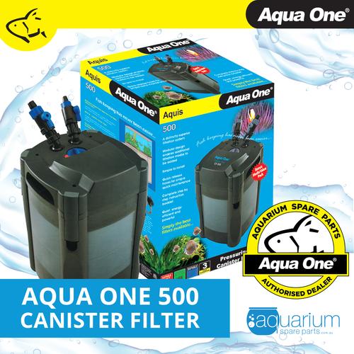 Aqua One Aquis 500 Canister Filter (11181)