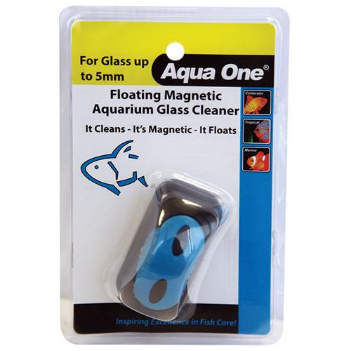 Aqua One Floating Magnet Glass Cleaner (Sml) (10100)