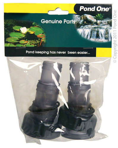Pond One ClearTec Inlet/Outlet Set 11w/18w/36w (11682)
