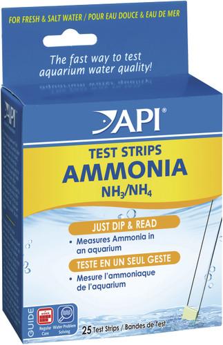 API Ammonia Test Strips (25pk)