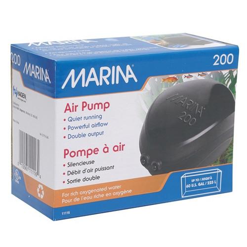 Marina Air Pump 200L - Twin