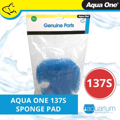 Aqua One Ocellaris 850/850 UVC Sponge Pad - 15ppi (2pk) 137s (25137s)