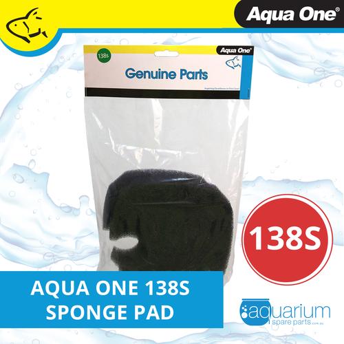 Aqua One Ocellaris 850/850 UVC Sponge Pad - 35ppi (2pk) 138s (25138s)