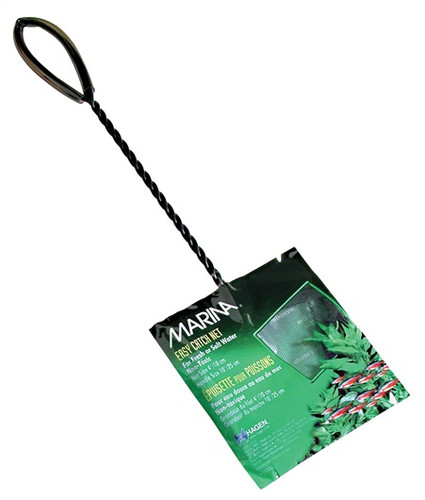 Marina Easy Catch Net Course Black 10x7.5cm