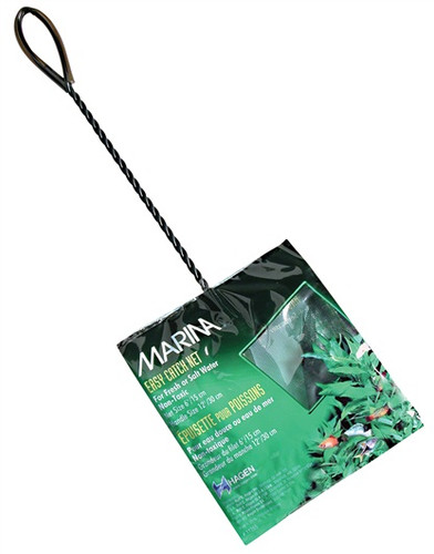 Marina Easy Catch Net Course Black 15x12.5cm