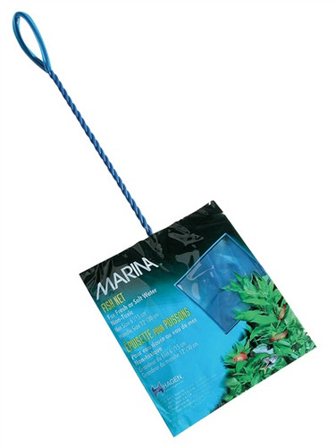 Marina Easy Catch Net Fine Blue 15x12.5cm