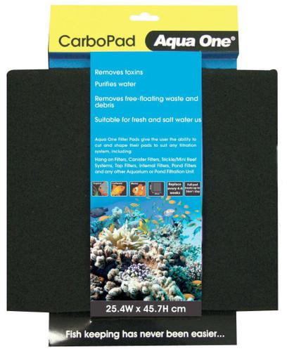 Aqua One Carbon Pad - Self Cut Filter Pad (10448)