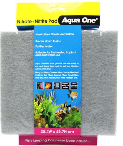 Aqua One Nitrite/Nitrate Pad - Self Cut Filter Pad (10458)