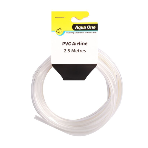 Aqua One Airline PVC Clear (2.5M) (10403)