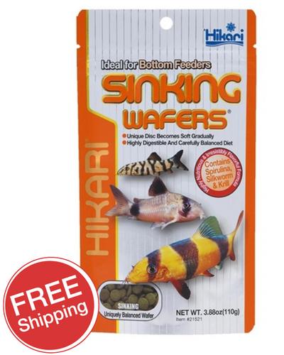 Hikari Sinking Wafers 110gm (KH21521)