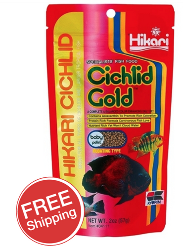 Hikari Cichlid Gold Baby 57gm (KH04111)
